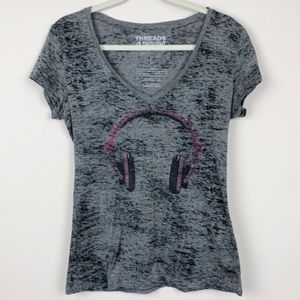 Thread 4 Thought V Neck Graphic Tee